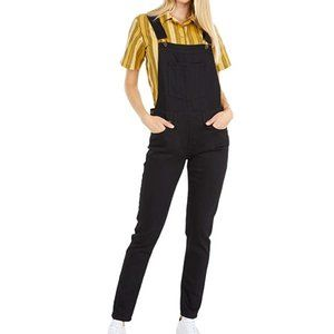 Naked and Famous Black Power Stretch Overalls